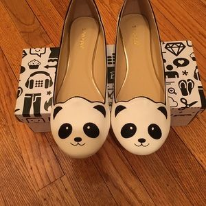 Bamboo Panda Flats